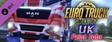 Euro Truck Simulator 2 - UK Paint Jobs Pack