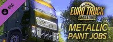 Euro Truck Simulator 2 - Metallic Paint Jobs Pack