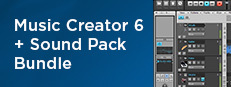 Music Creator 6 + Sound Pack Bundle