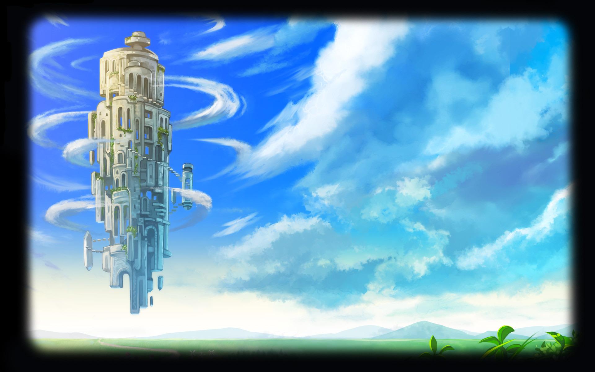 Sky Tower ( Left )