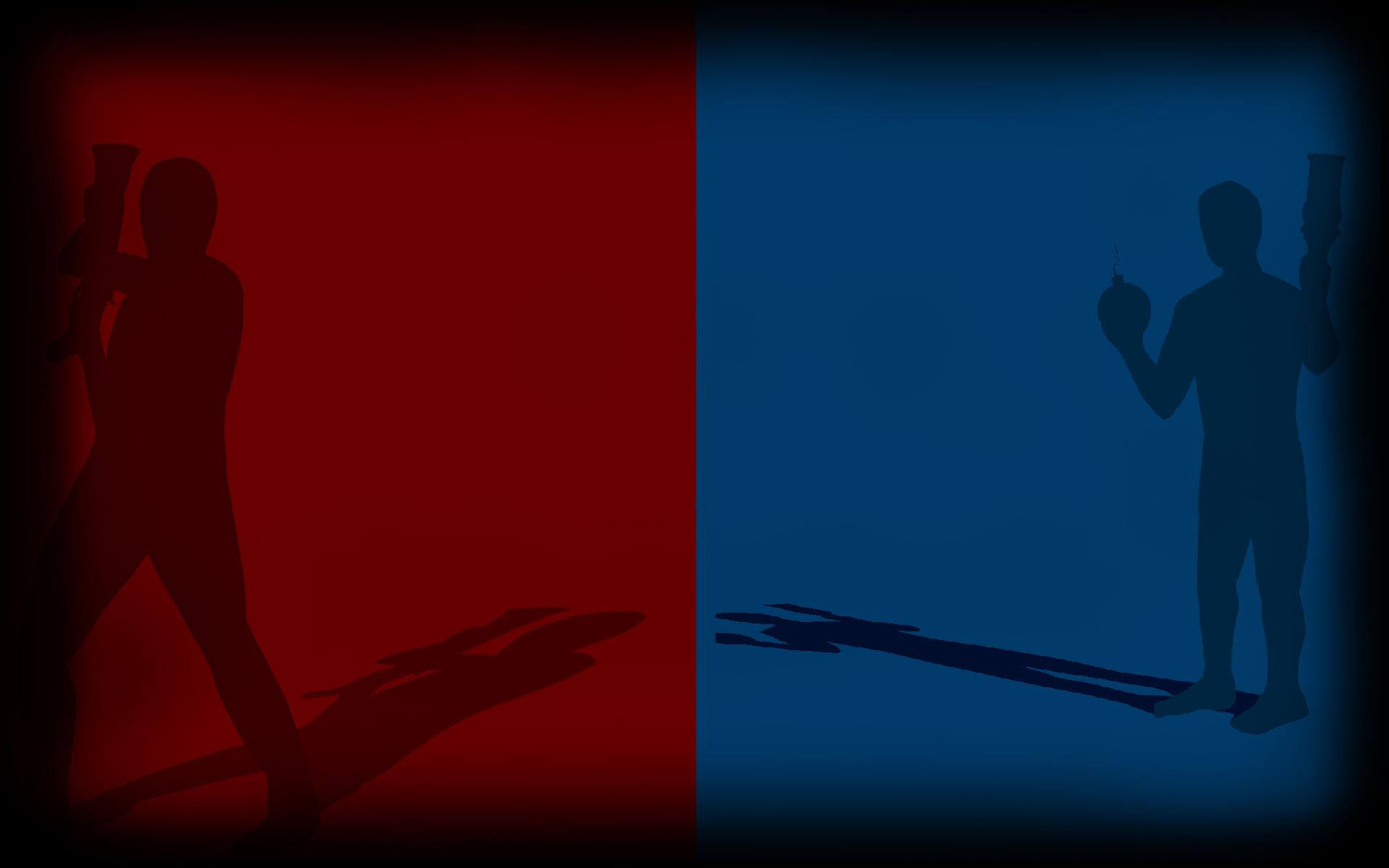 Red Vs Blue (Profile Background)