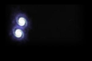 Twin Spiral Galaxy