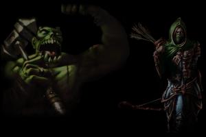 Orc And Huntress