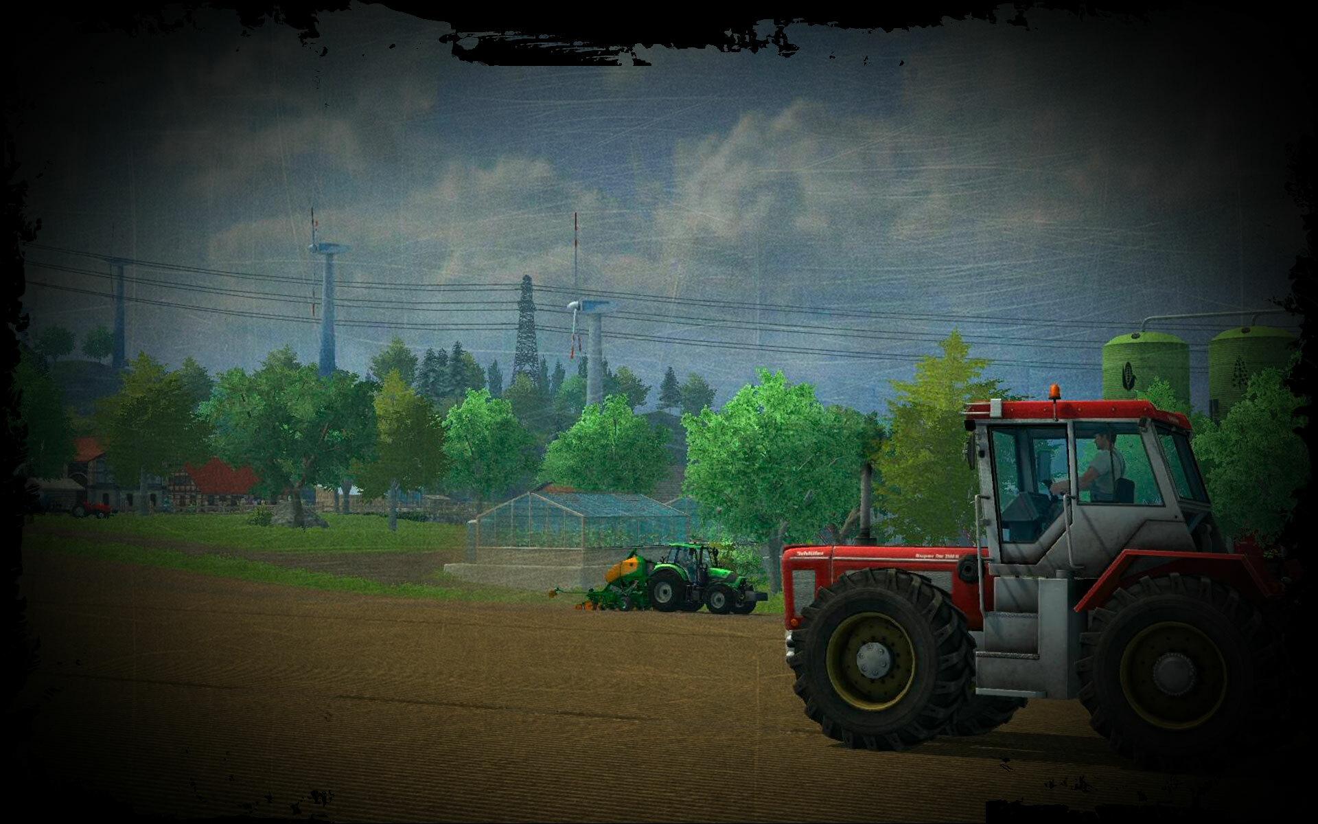 A modern farmer's life