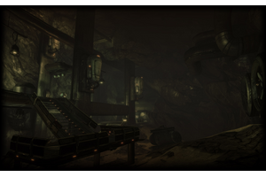 Grineer Mining Colony Profile Background