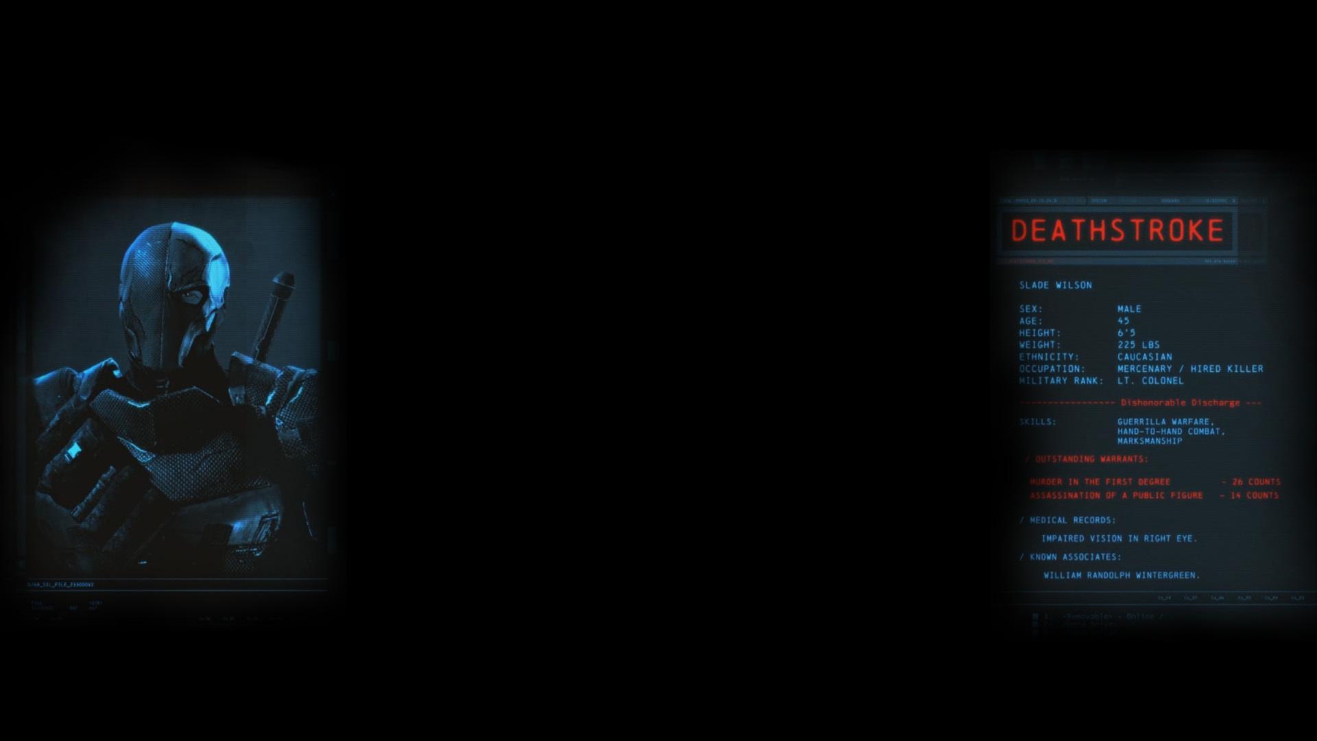 Deathstroke (Profile Background)