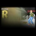 Christian hiding