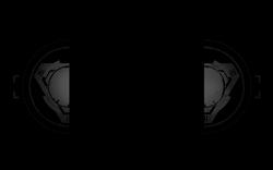 Gray Defense Grid Logo