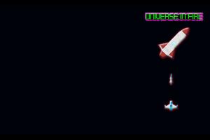 Space Attack Profile Background