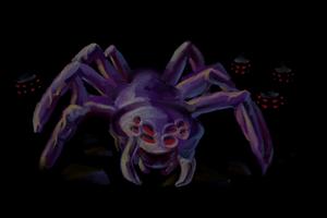 Spider Profile Background
