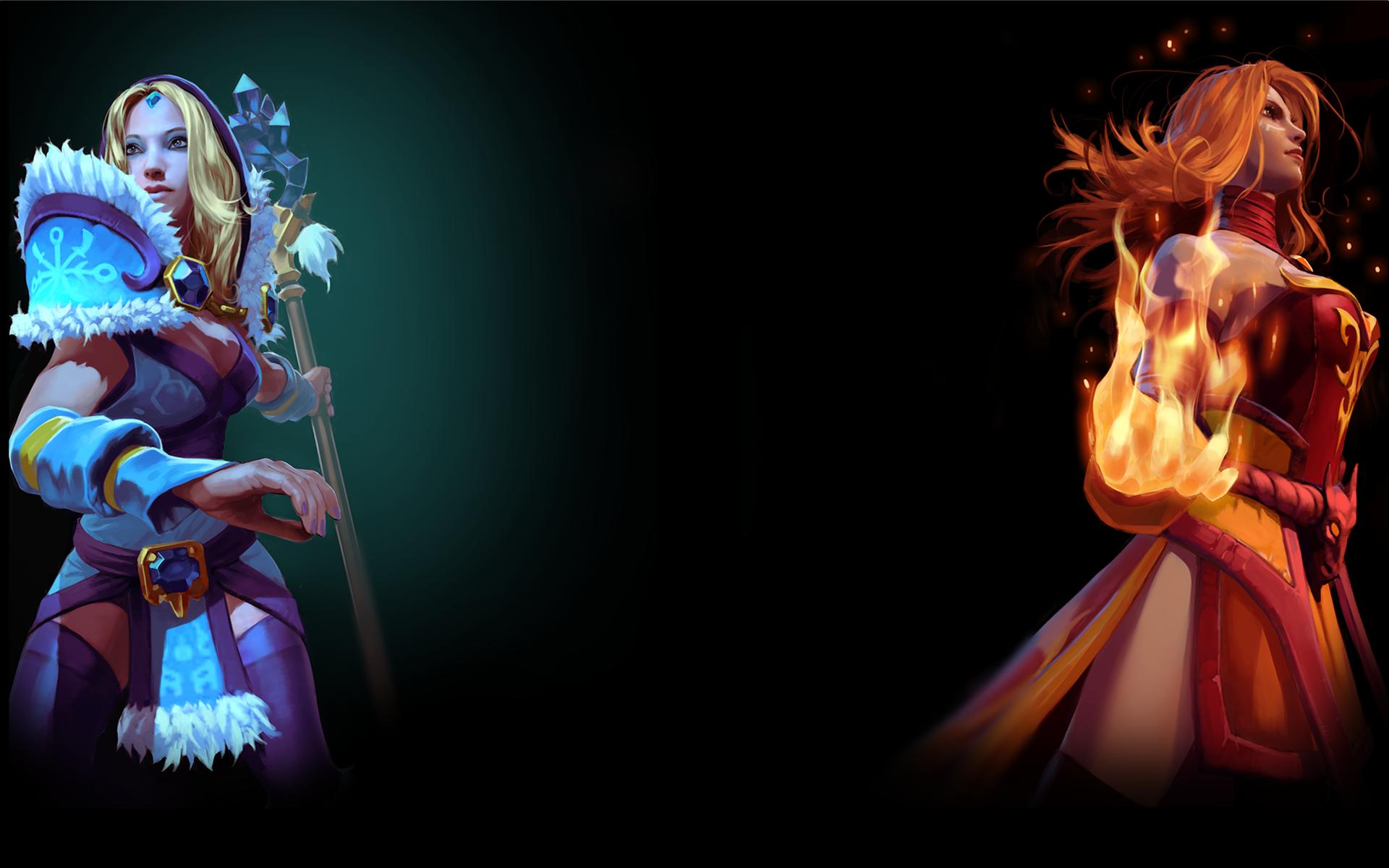Crystal Maiden & Lina
