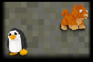 Voxel Penguin