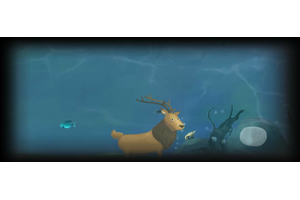 The Underwater Deer