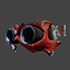 Wasteland Goggles | Red