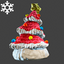 Christmas | Tree Hat | Red