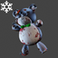 Christmas | Teddybear Backpack | Dark