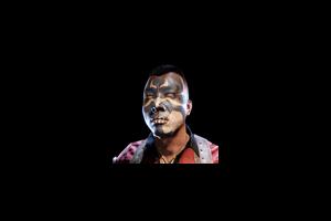 Halloween Face Paint Tanaka