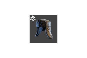 Christmas Ushanka Tan
