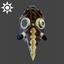 Steampunk | Mrs. Foster Mask | Dark Leather
