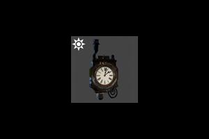 Steampunk Chimney Clock Standard