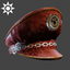 Steampunk | Captain's Hat | Chrome