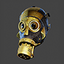 Steampunk Gas Mask Closed | Precious