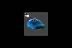 Steampunk Flat Cap Blue
