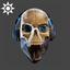 Steampunk | DJ Scully Mask | Blue