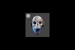 Steampunk Dj Scully Mask Bleach