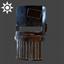 Steampunk | Welder's Mask | Brass