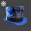 Steampunk | Top Hat | Blue