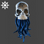 Steampunk | Tentacle Skull | Blue