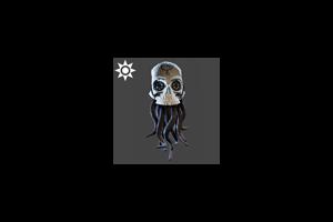 Steampunk Tentacle Skull Standard