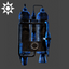 Steampunk | Tanks Backpack | Blue