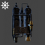 Steampunk | Tanks Backpack | Yellow