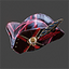 Space Pirate | Tricorn Hat | Red