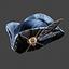 Space Pirate | Tricorn Hat | Black