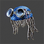 Space Pirate | Goggle Dreads | Navy
