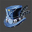 Space Pirate | Feathered Top Hat | Navy