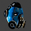 Sci-Fy Breathing Helmet A | Blue