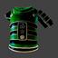 Samurai Armor Chest | Green