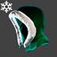 Christmas | Santa Hood | Green