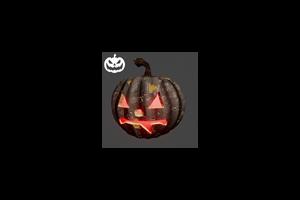 Jack O Lantern Halloween Fang