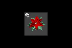 Christmas Poinsettia Hat Classic
