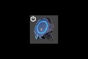 Pad Backpack Blue
