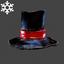 Christmas | Husk Hat | Black