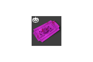 Halloween Premium Treat Ticket