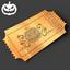Halloween Golden Treat Ticket