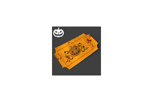Halloween Treat Ticket