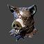 Halloween   Boar Head   Precious